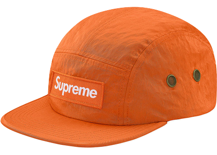 Supreme Washed Nylon Camp Cap