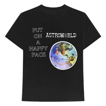 Travis Scott Astroworld Happy Face Tee - Black - Used