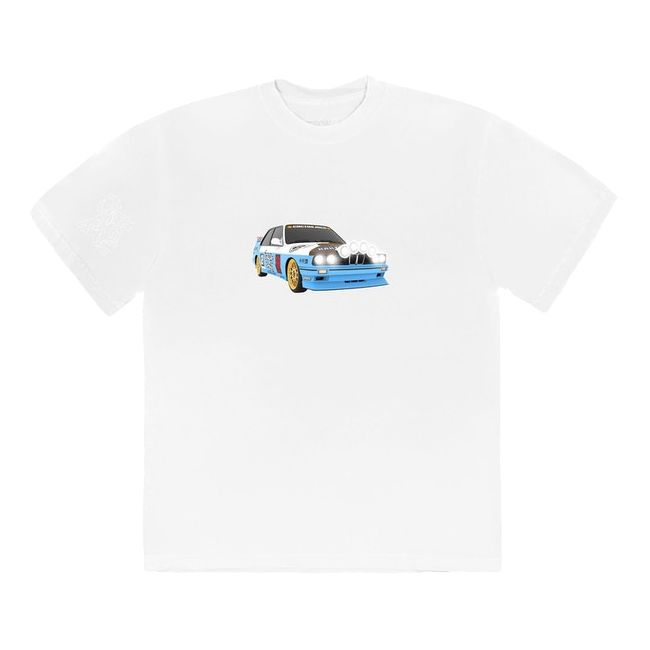 Travis Scott Jackboys Vehicle T-Shirt III - White