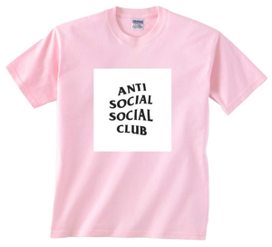 Anti Social Social Club Club - The Club Tee - Pink