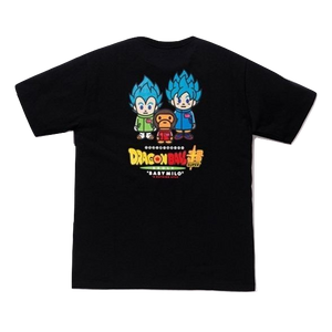 A Bathing Ape Dragon Ball Super Son Goku & Vegeta Tee - Black