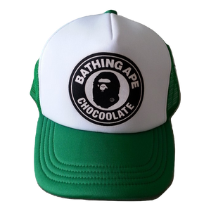 A Bathing Ape x Chocoolate Cap - White/Green
