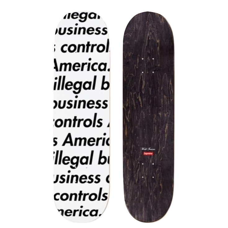 Supreme IBCA Deck - White