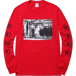Supreme/Bruce Lee Mirror L/S - Red - Used