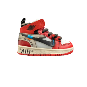 65e5bacb05896 The 10  Air Jordan 1 OFF WHITE Toddler - Chicago