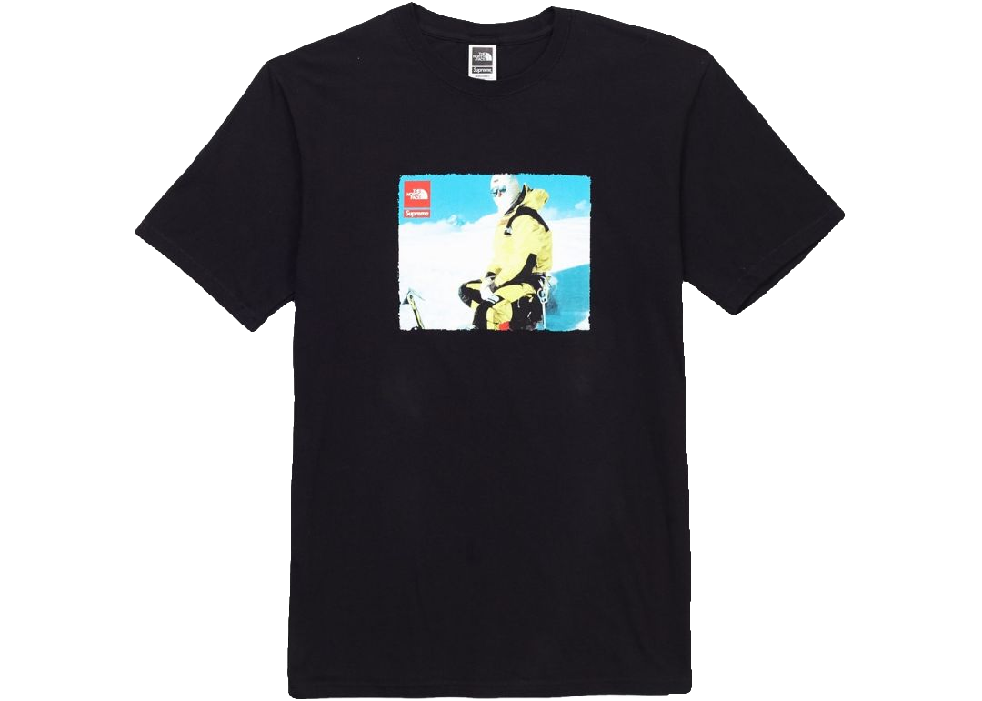 Supreme x TNF Photo Tee - Black - Used