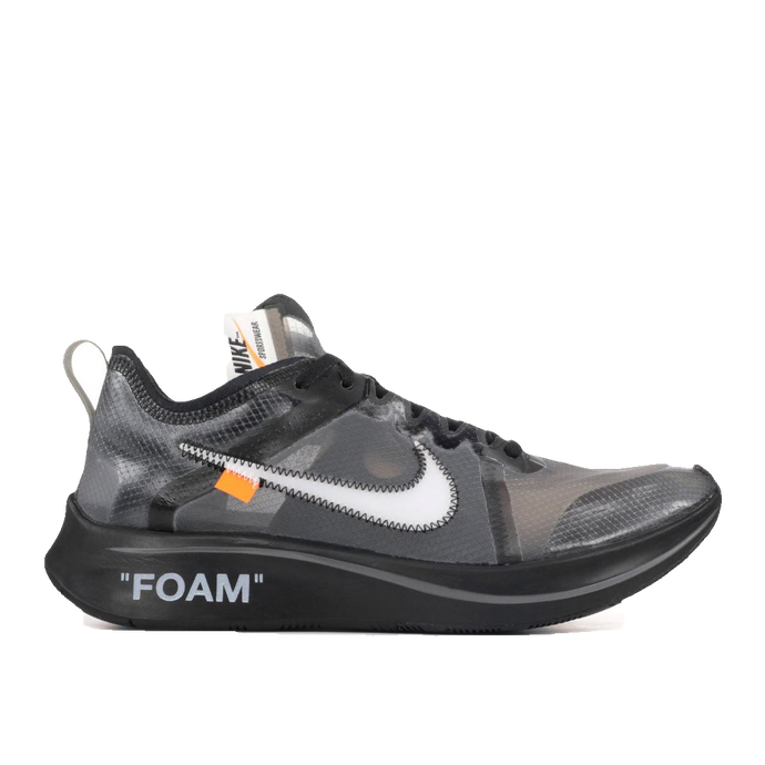 The 10: Nike Zoom Fly - Off White - Black - Used