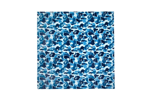 A Bathing Ape ABC Camo Blanket - Blue