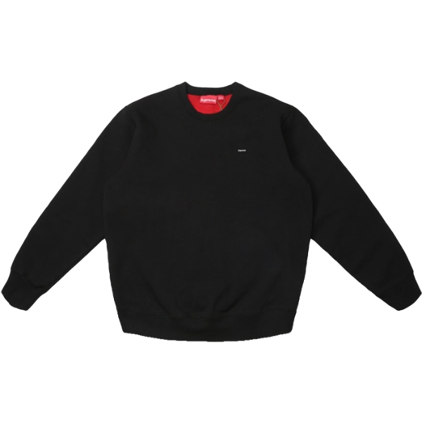 Supreme Contrast Crewneck - Black - Used