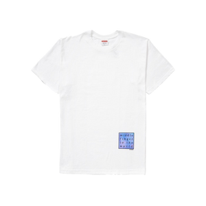 Supreme Middle Finger to the World Tee - White