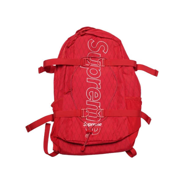 Supreme Backpack FW18 - Red - Used