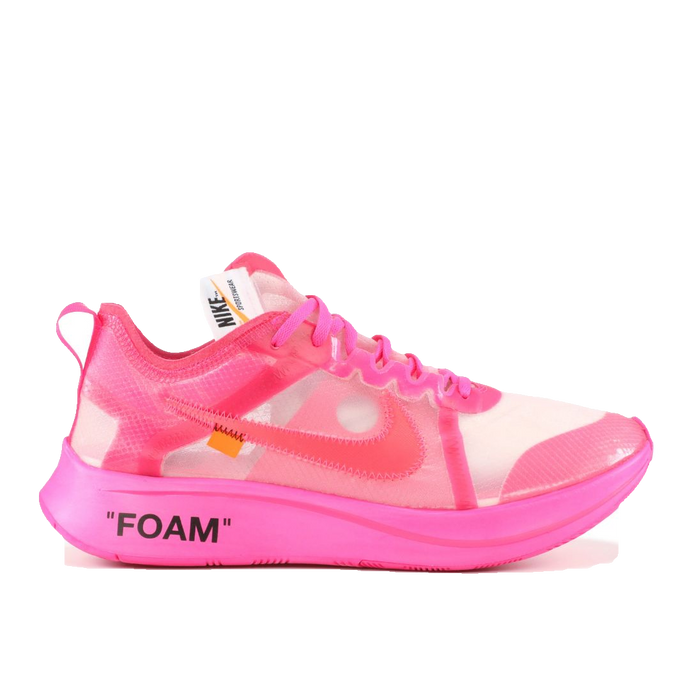 The 10: Nike Zoom Fly Off-White - Pink - Used