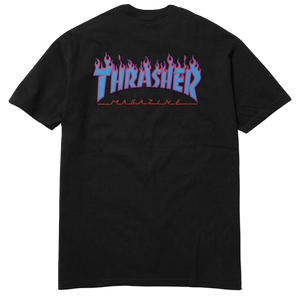 Supreme x Thrasher Tee SS11 - Black - Used