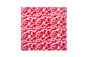 A Bathing Ape ABC Camo Blanket - Pink