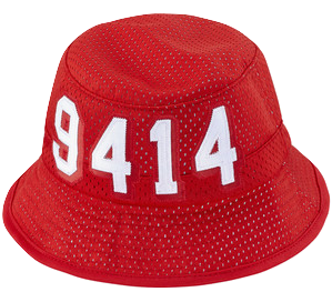 Supreme 20th Anniversary 9414 Bucket Hat Red -Used