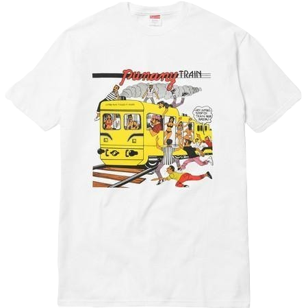 Supreme Limonious Punany Train Tee - White