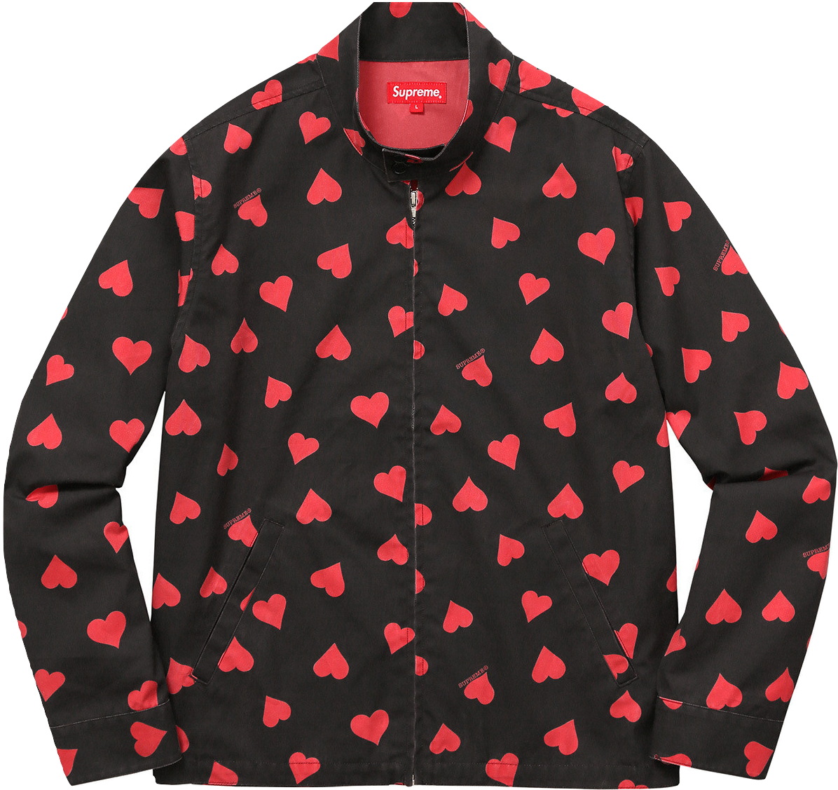 Supreme Heart Harrington Jacket