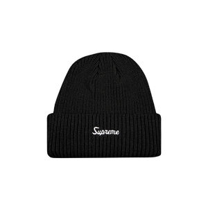 Supreme Loose Gauge Beanie - Black