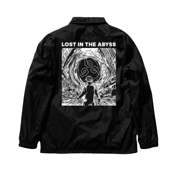 Juice WRLD LMTD 999 Abyss Coach Jacket - Black