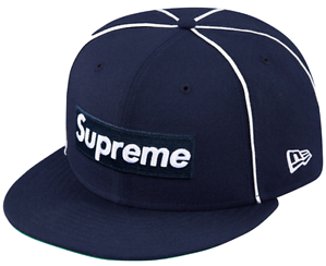 Supreme Box Logo Piping New Era