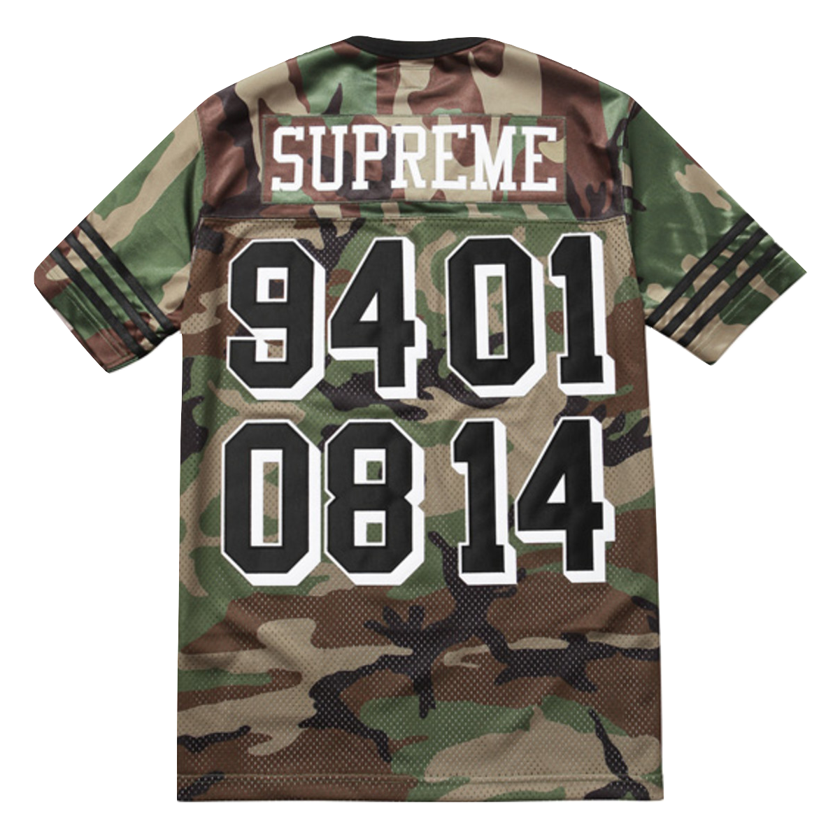 Supreme Championship Football Top - Camo
