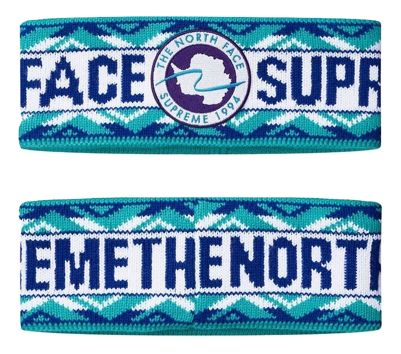 Supreme x The North Face Expedition Headband - Honor Blue