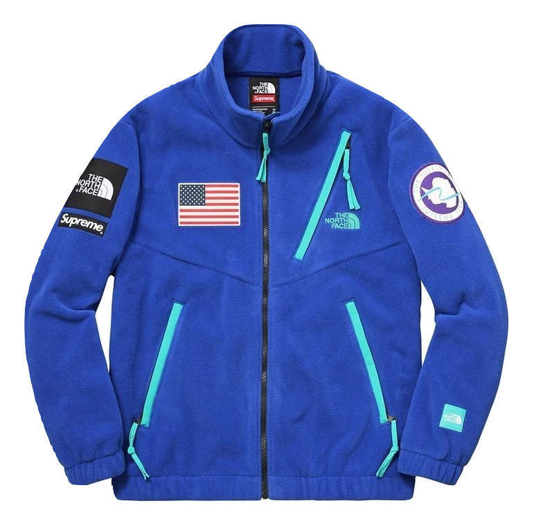 Supreme X The North Face Trans Antarctica Expedition Fleece Jacket
