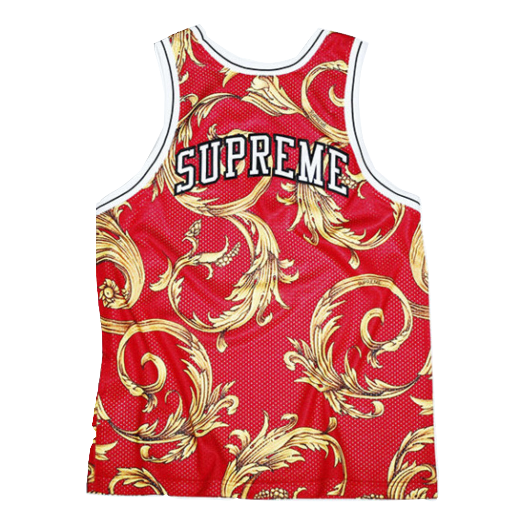 496fc2a2c90 Supreme x Nike Jersey - Red – grails sf