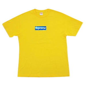 Supreme Holographic Box Logo Tee - Yellow