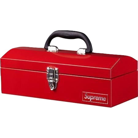 Supreme Tool Box (FW14) - Red - Used