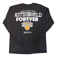 Travis Scott Astroworld x New York City Knicks L/S - Black - Used