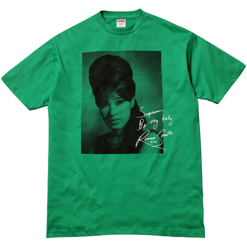 Supreme Ronnie Spector Tee - Green - Used