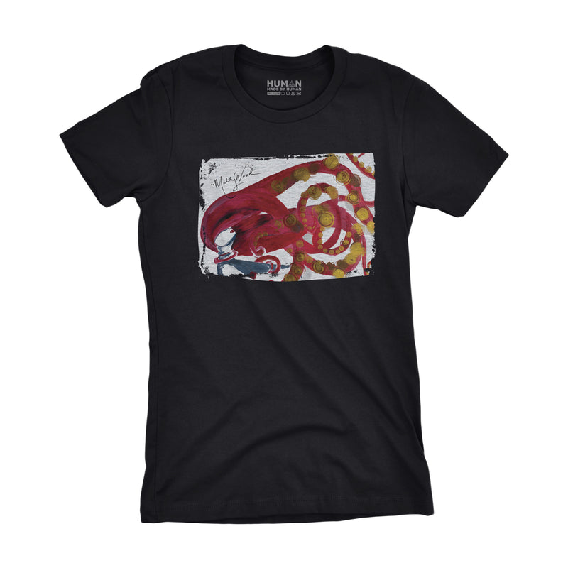Catch Women's Tee - Human Skate Co.