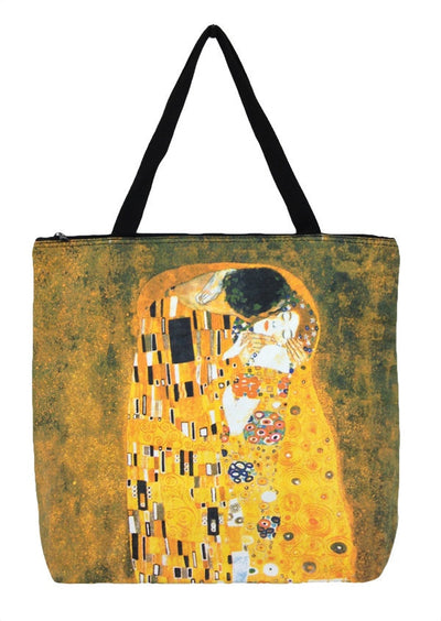 Art Print Bag Gustav Klimt The Kiss
