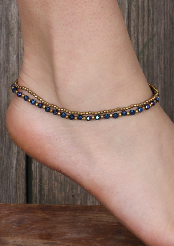 Radiant Anklet Midnight