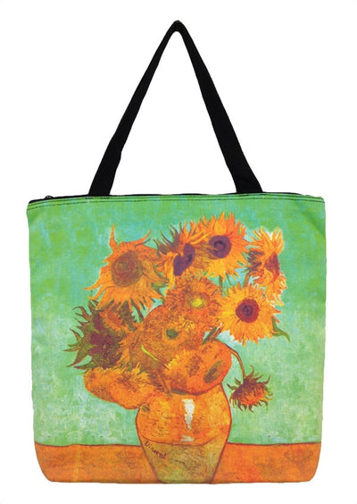 Art Print Bag Van Gogh Sunflowers