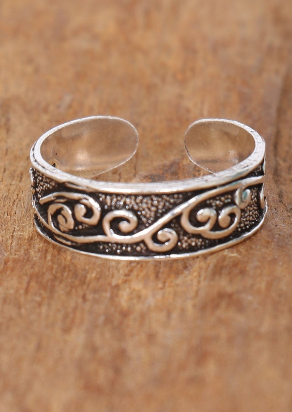 Swirly Vine Toe Ring