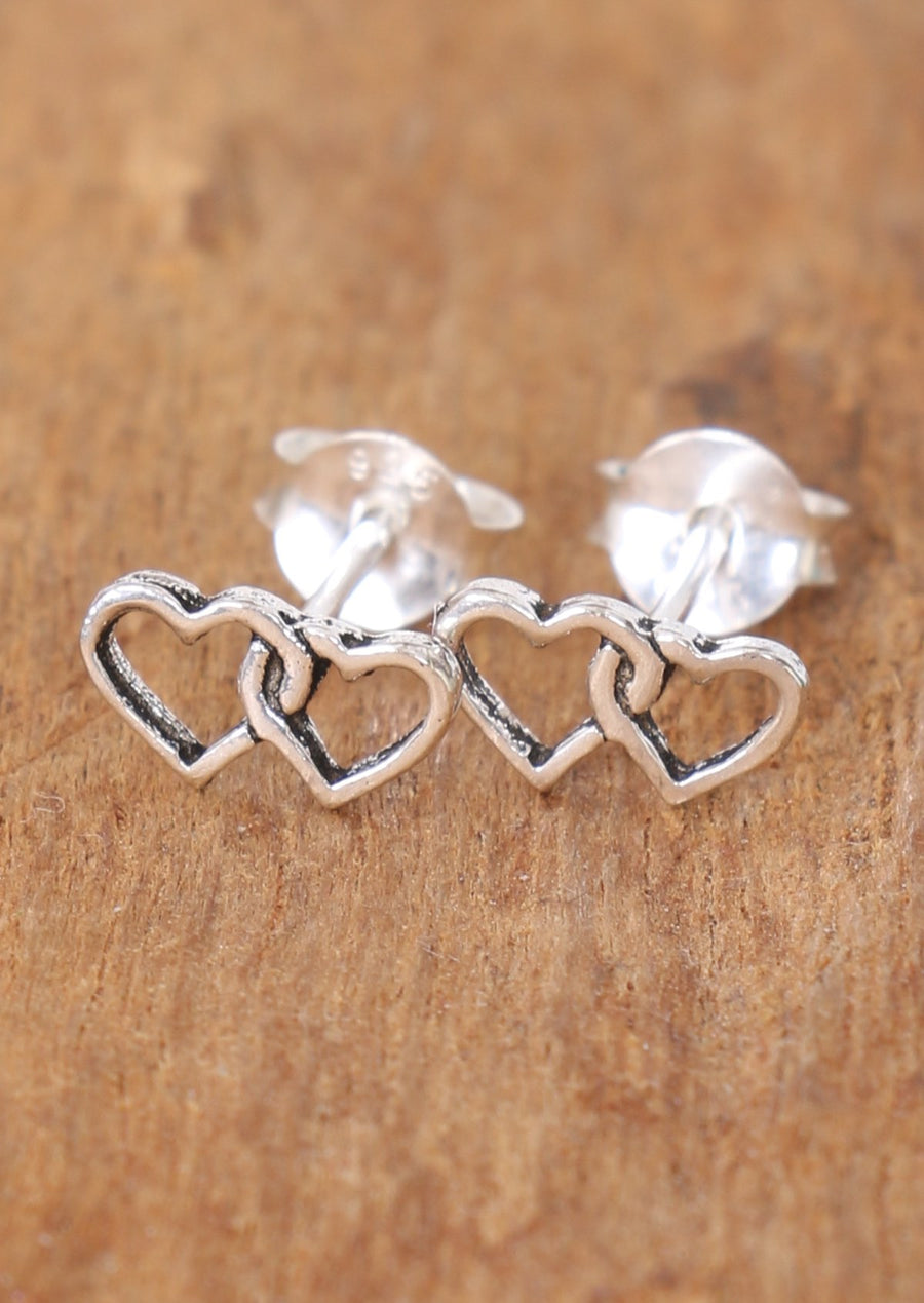 Hearts Entwined Studs