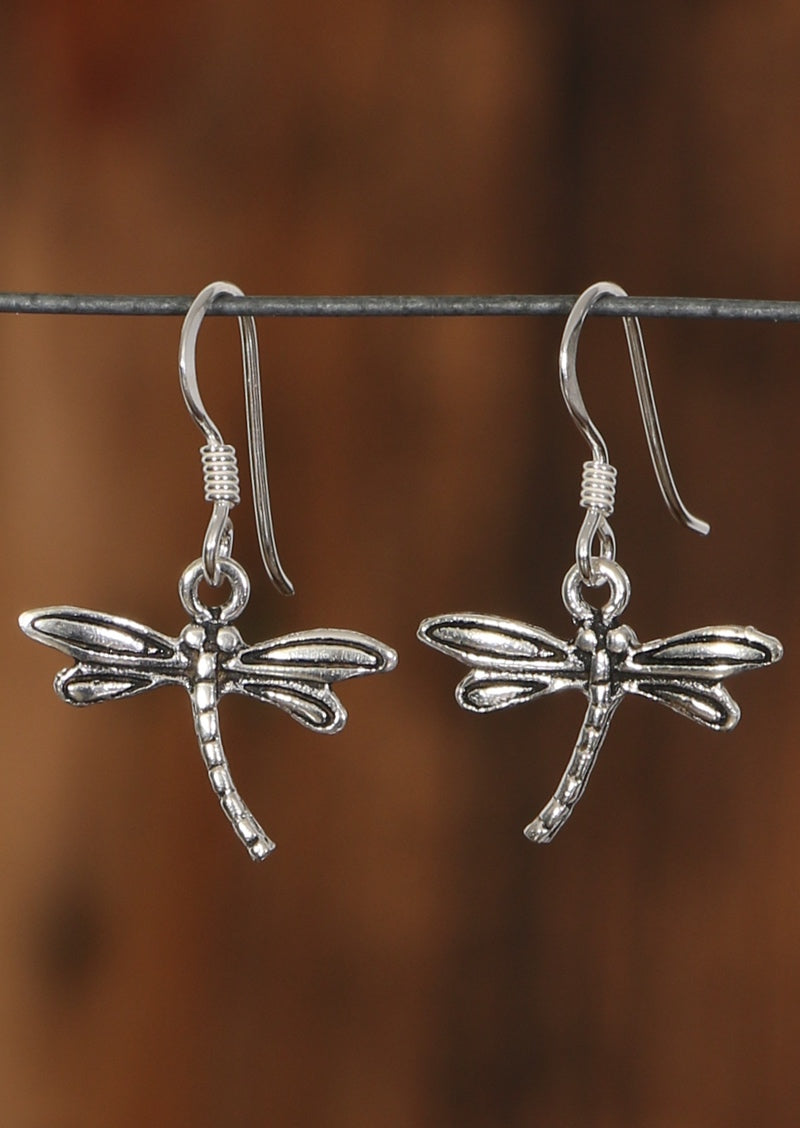 Dainty Dragonfly Earrings