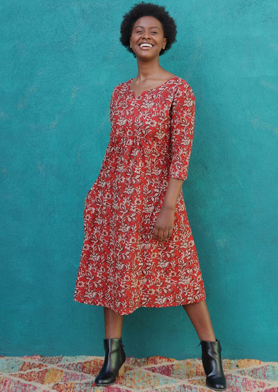 Tilda Dress Desert Rose