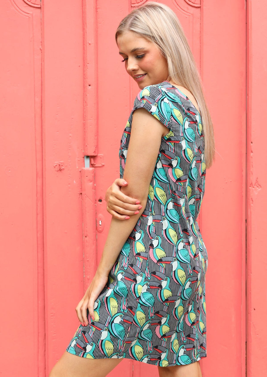 Ava Dress Toucan Too