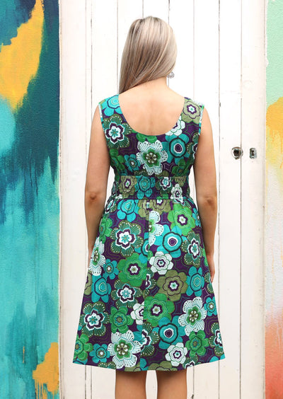 Dharma Dress Retro Flower