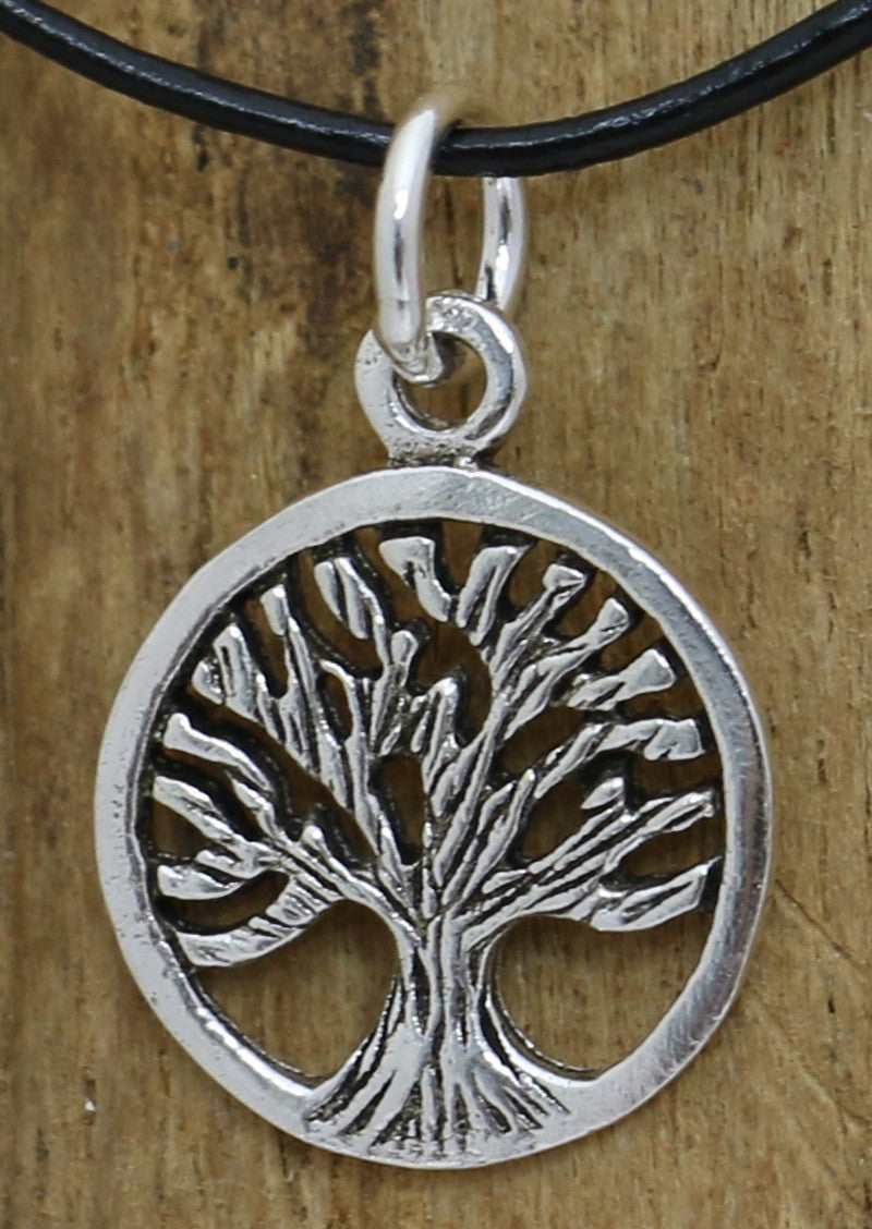 Silver Mini Tree Pendant