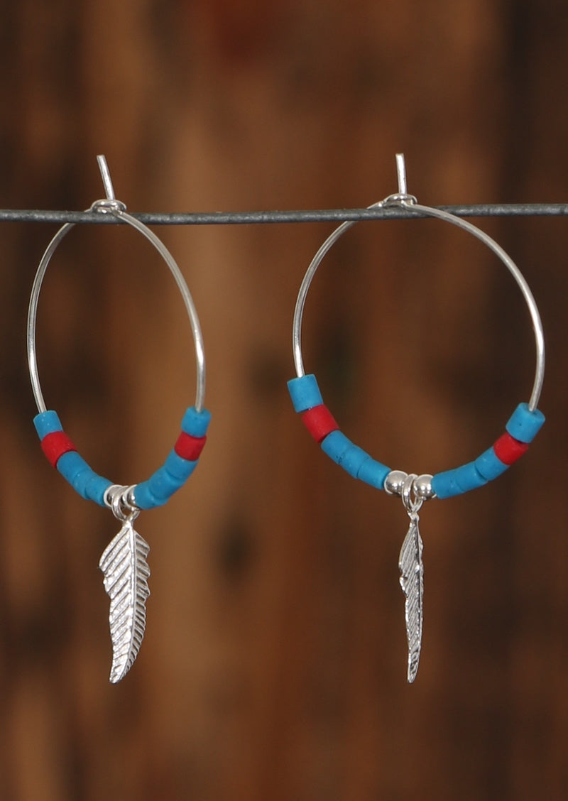 Dream Silver Hoops