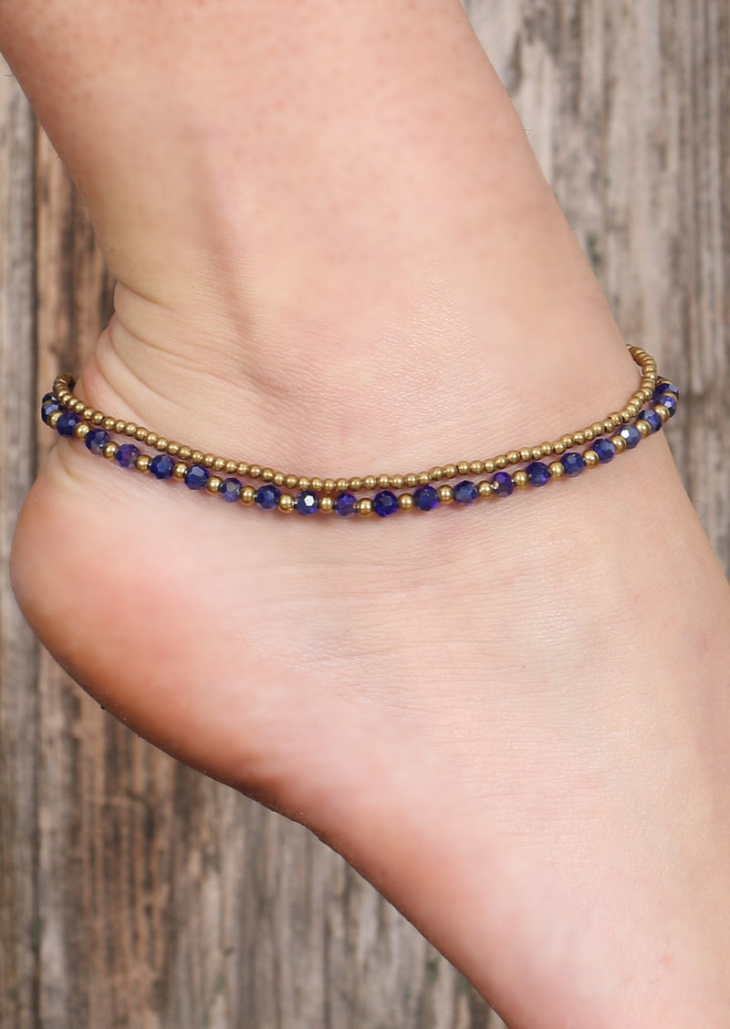 Radiant Anklet Purple