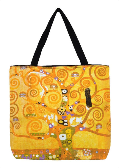 Art Print Bag Klimt Tree of Life