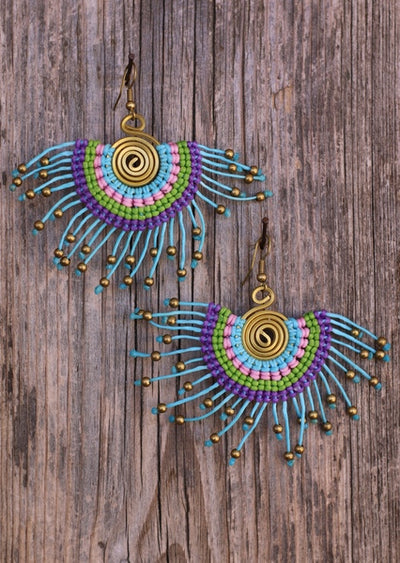 Macrame Earrings 1