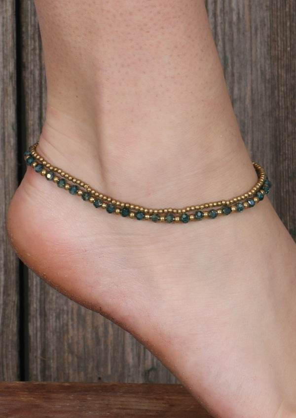 Radiant Anklet Green