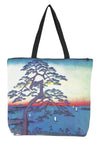 Art Print Bag Japanese Tree