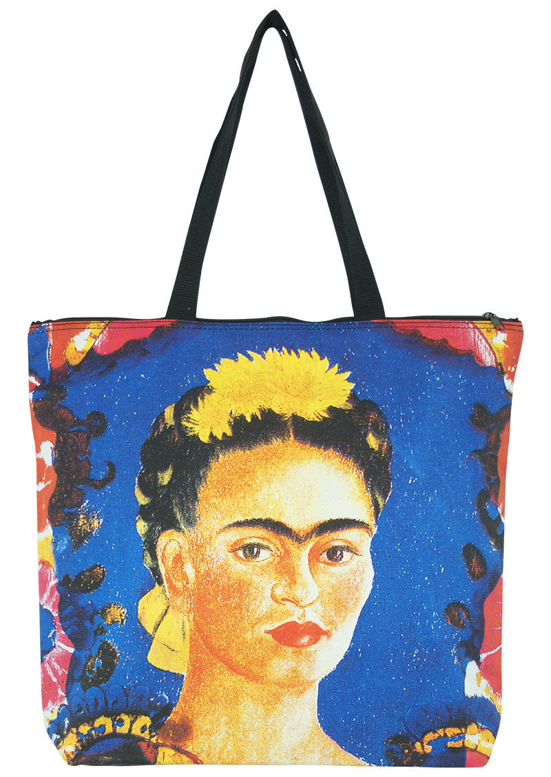 Art Print Bag Frida & Flowers